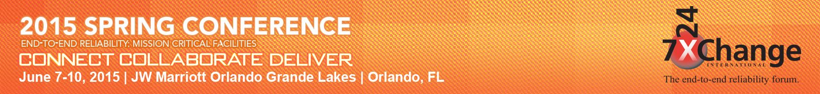 7×24 Exchange Spring 2015 Conference