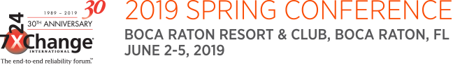 Spring 2019 Data Center Conference | 7x24 Exchange